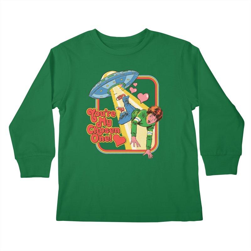 My Chosen One Kids Longsleeve T-Shirt by Steven Rhodes
