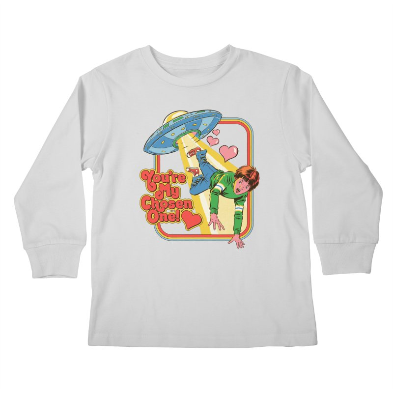 My Chosen One Kids Longsleeve T-Shirt by Steven Rhodes