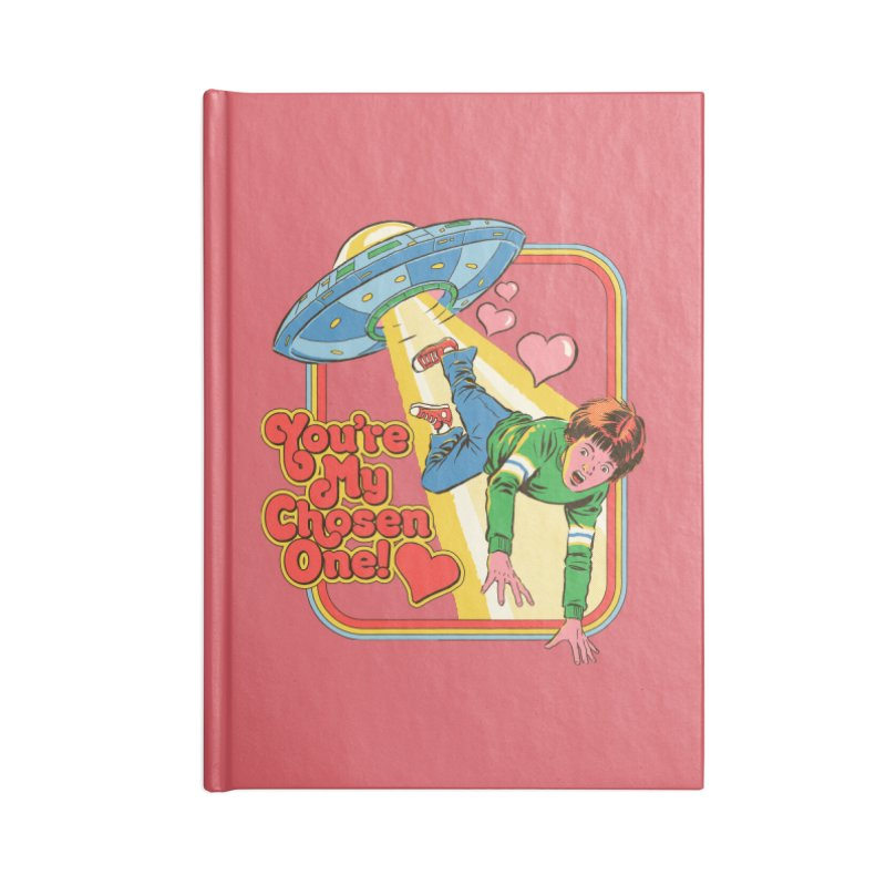 My Chosen One Accessories Blank Journal Notebook by Steven Rhodes