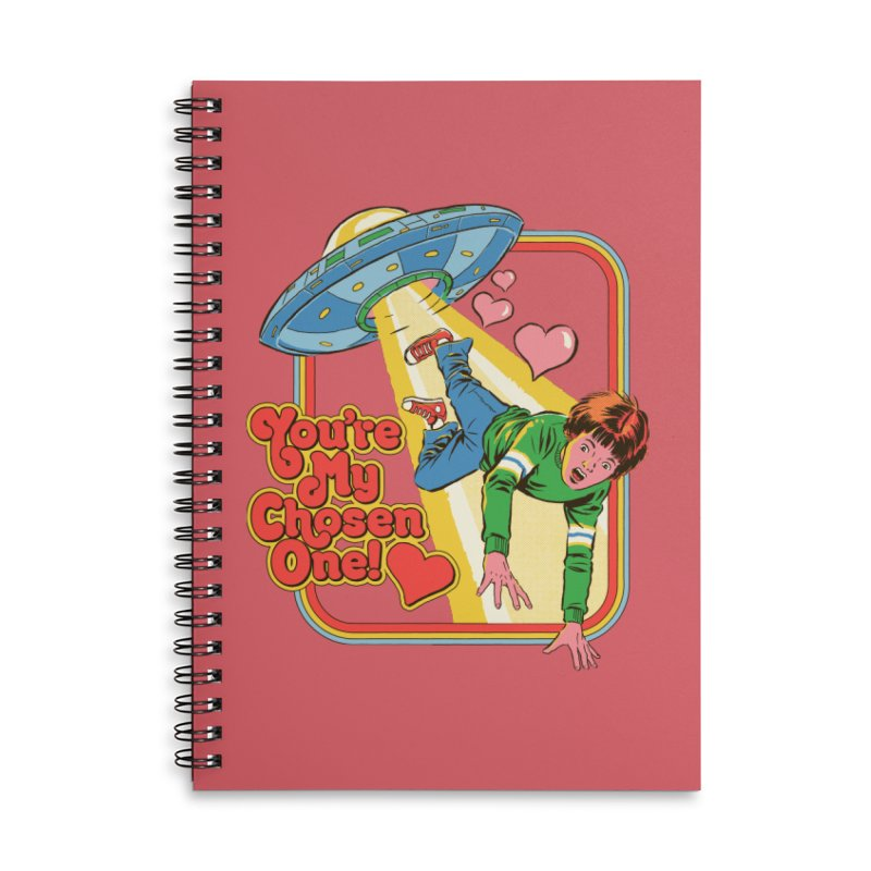 My Chosen One Accessories Lined Spiral Notebook by Steven Rhodes