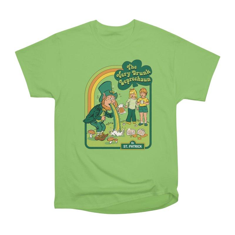 The Very Drunk Leprechaun Women's Heavyweight Unisex T-Shirt by Steven Rhodes