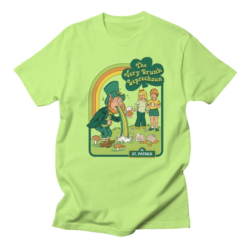 The Very Drunk Leprechaun Women's Regular Unisex T-Shirt by Steven Rhodes