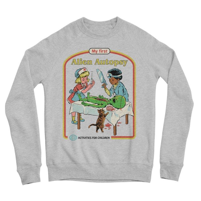 My First Alien Autopsy Men's Sweatshirt by Steven Rhodes
