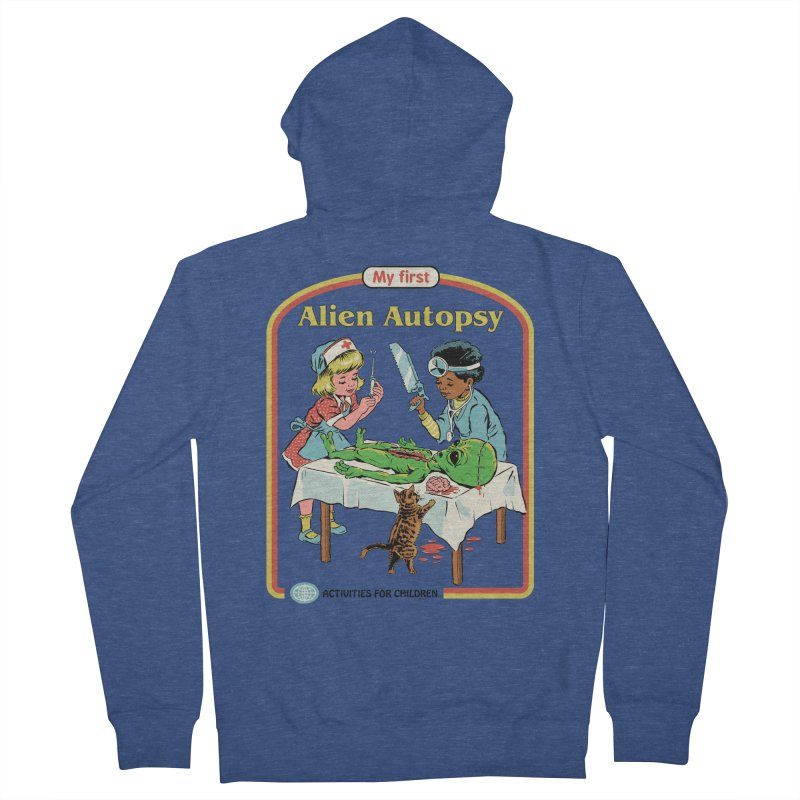 My First Alien Autopsy Women's French Terry Zip-Up Hoody by Steven Rhodes