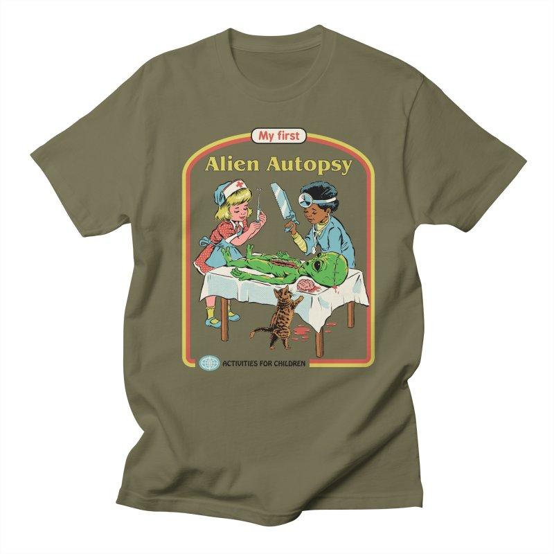 My First Alien Autopsy Men's Regular T-Shirt by Steven Rhodes