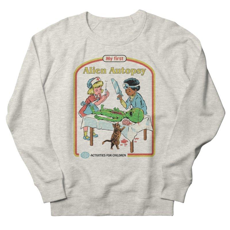 My First Alien Autopsy Women's French Terry Sweatshirt by Steven Rhodes