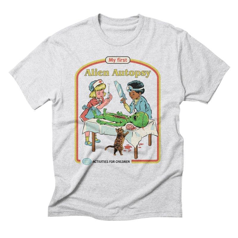 My First Alien Autopsy Men's Triblend T-Shirt by Steven Rhodes