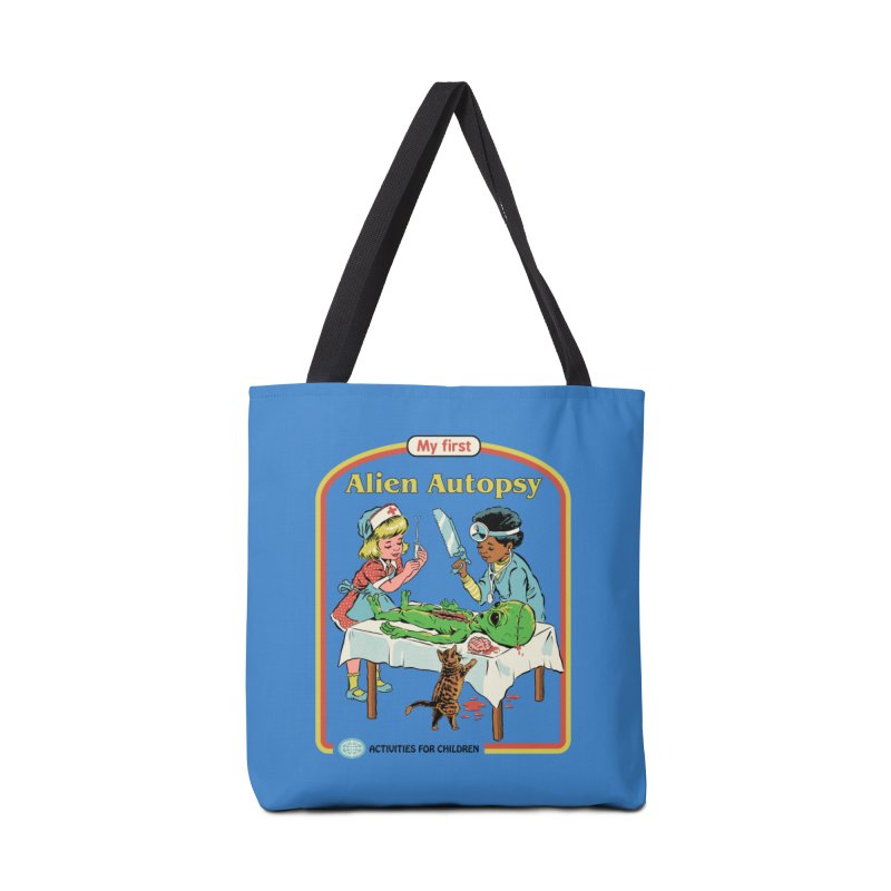 My First Alien Autopsy Accessories Tote Bag Bag by Steven Rhodes