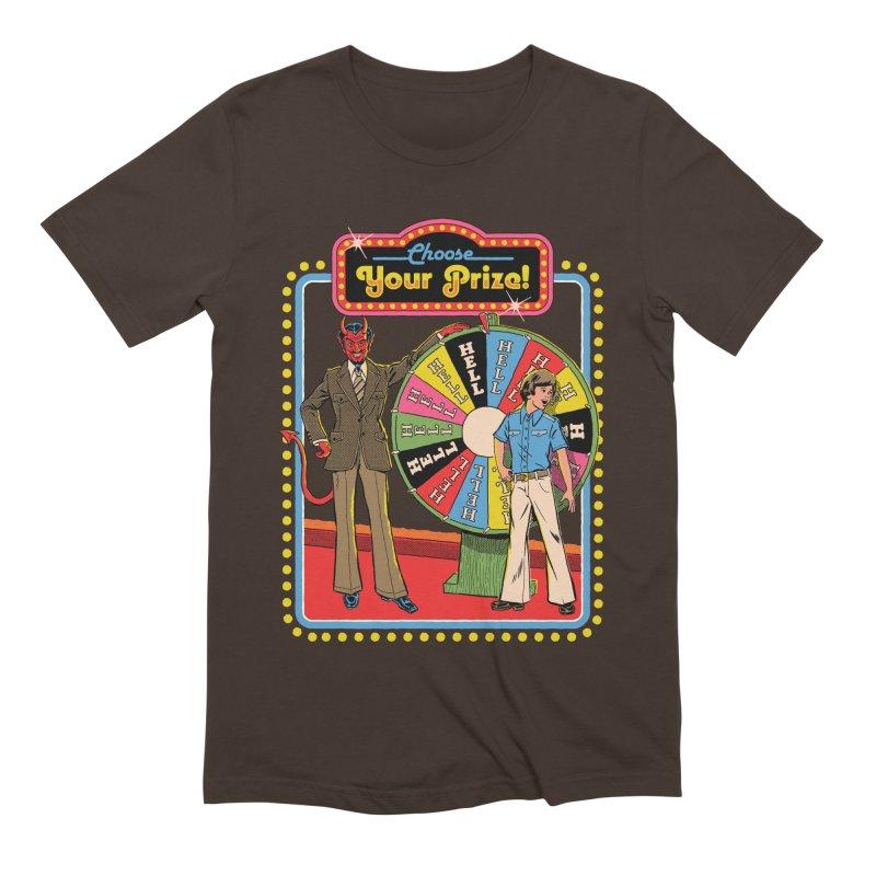 Choose Your Prize! Men's Extra Soft T-Shirt by Steven Rhodes