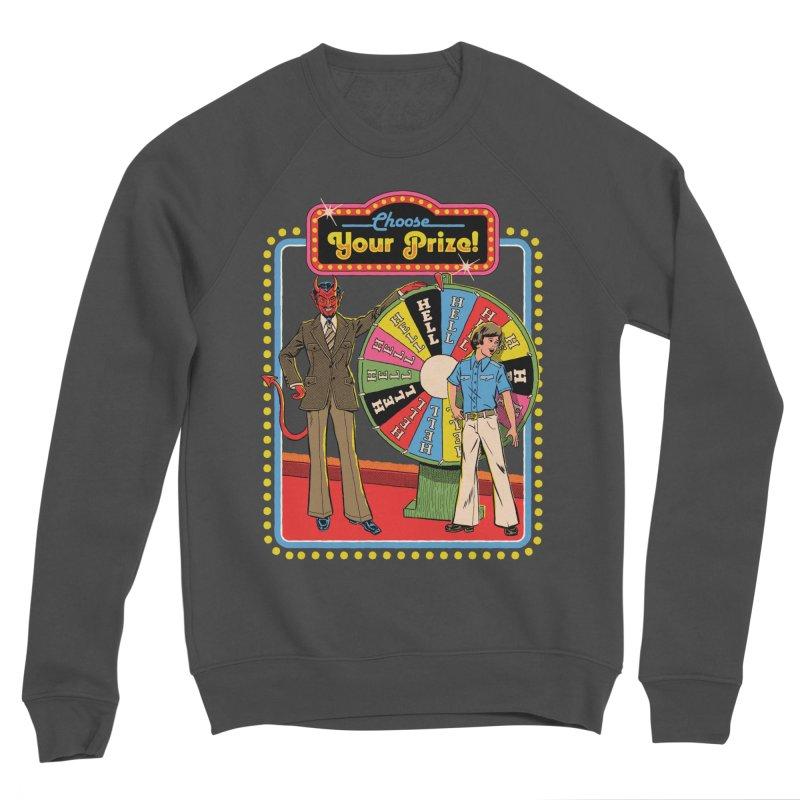 Choose Your Prize! Men's Sponge Fleece Sweatshirt by Steven Rhodes