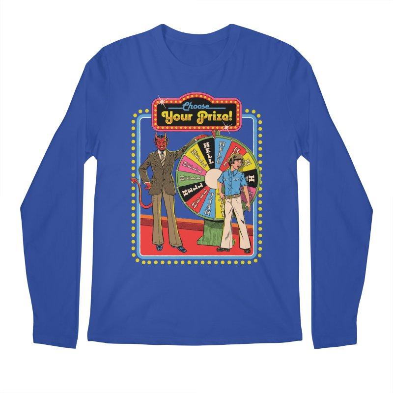 Choose Your Prize! Men's Regular Longsleeve T-Shirt by Steven Rhodes