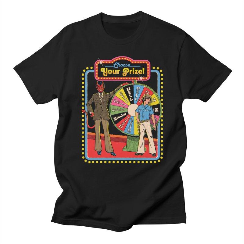 Choose Your Prize! Men's Regular T-Shirt by Steven Rhodes