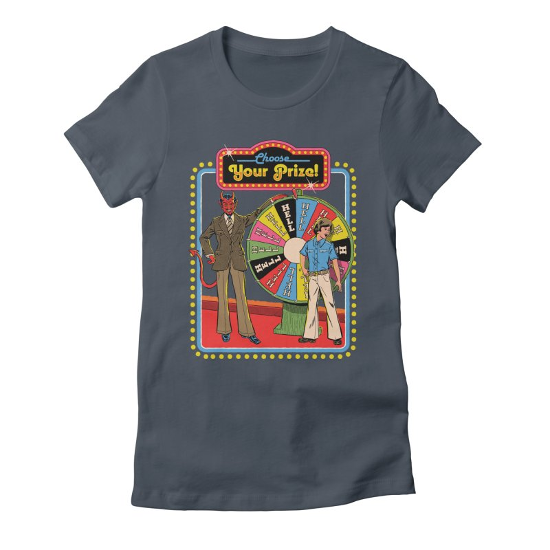 Choose Your Prize! Women's Fitted T-Shirt by Steven Rhodes