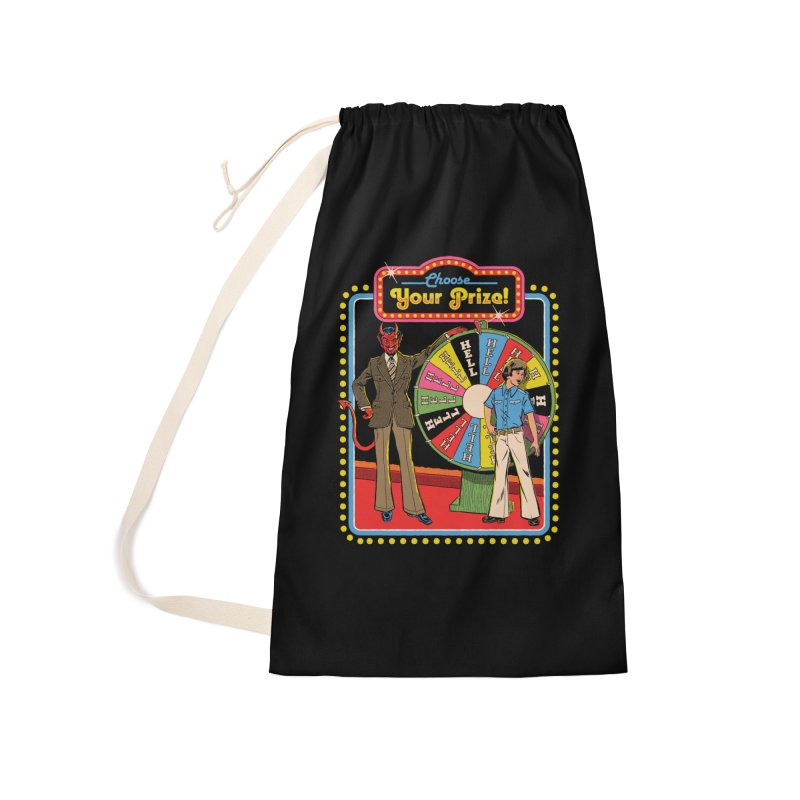 Choose Your Prize! Accessories Laundry Bag Bag by Steven Rhodes