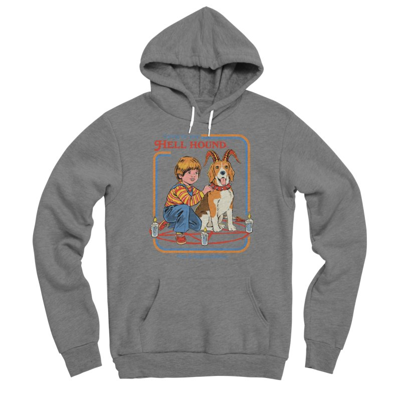 Caring For Your Hell Hound Women's Sponge Fleece Pullover Hoody by Steven Rhodes