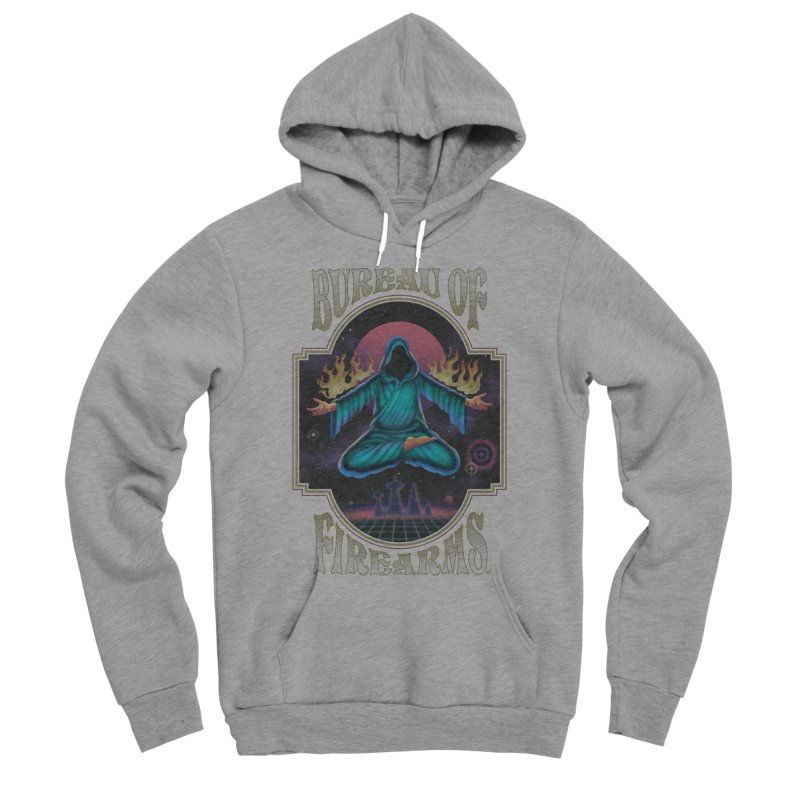 Bureau of Firearms Men's Pullover Hoody by Steven Rhodes