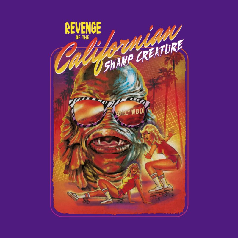 Californian Swamp Creature Men's T-Shirt by Steven Rhodes