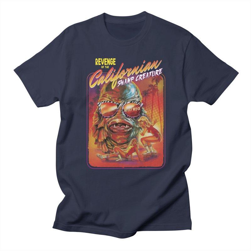 Californian Swamp Creature Men's T-Shirt by Steven Rhodes