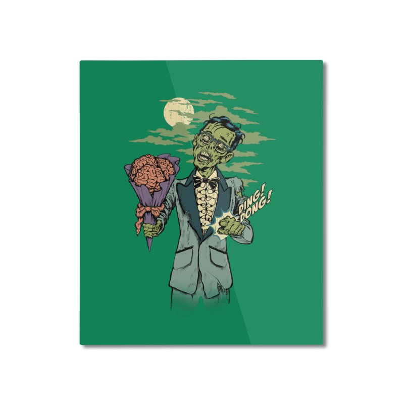 Date of the Dead Home Mounted Aluminum Print by Steven Rhodes