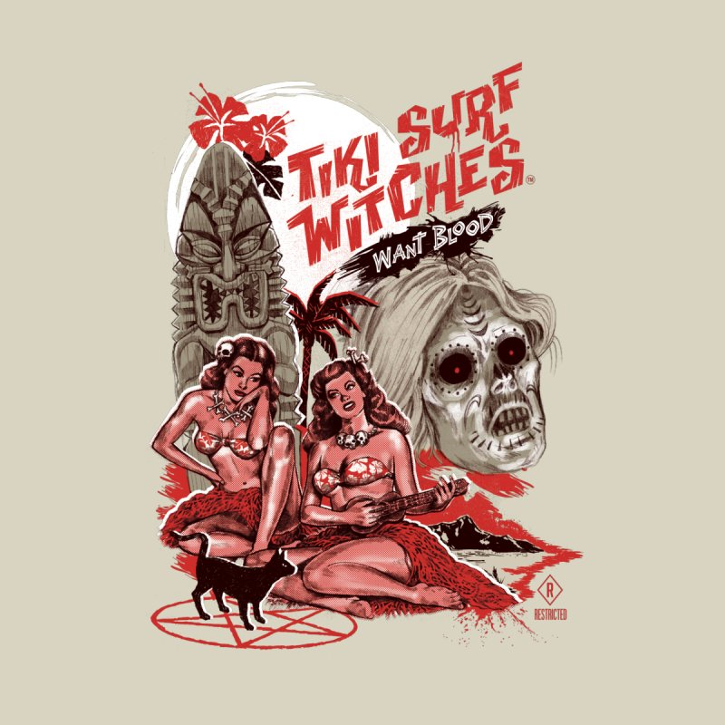 Tiki Surf Witches by Steven Rhodes