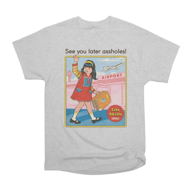See You Later Men's Heavyweight T-Shirt by Steven Rhodes