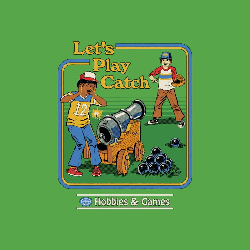 Let's Play Catch Accessories Bag by Steven Rhodes