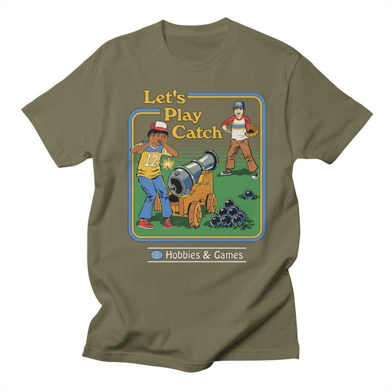 Let's Play Catch Women's Regular Unisex T-Shirt by Steven Rhodes