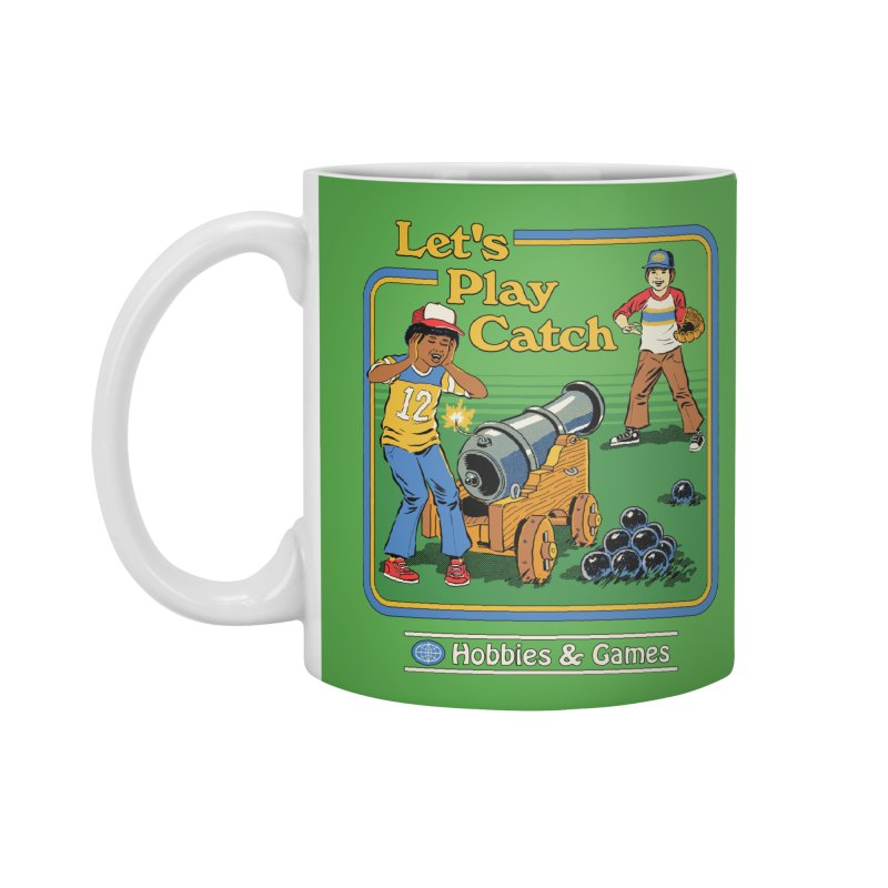 Let's Play Catch Accessories Standard Mug by Steven Rhodes