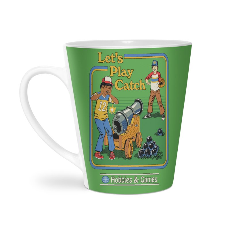 Let's Play Catch Accessories Latte Mug by Steven Rhodes