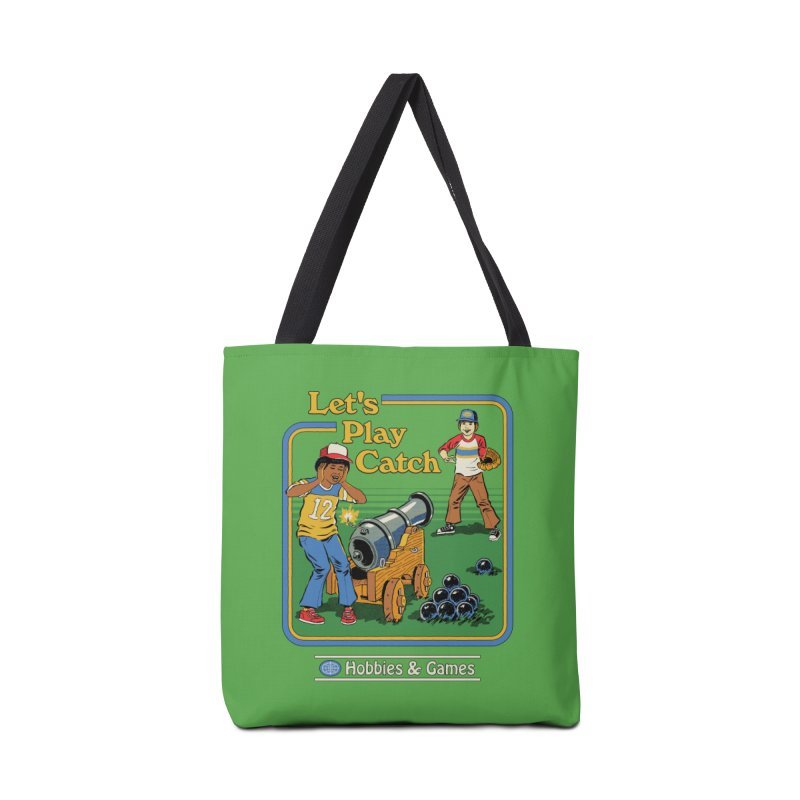 Let's Play Catch Accessories Tote Bag Bag by Steven Rhodes