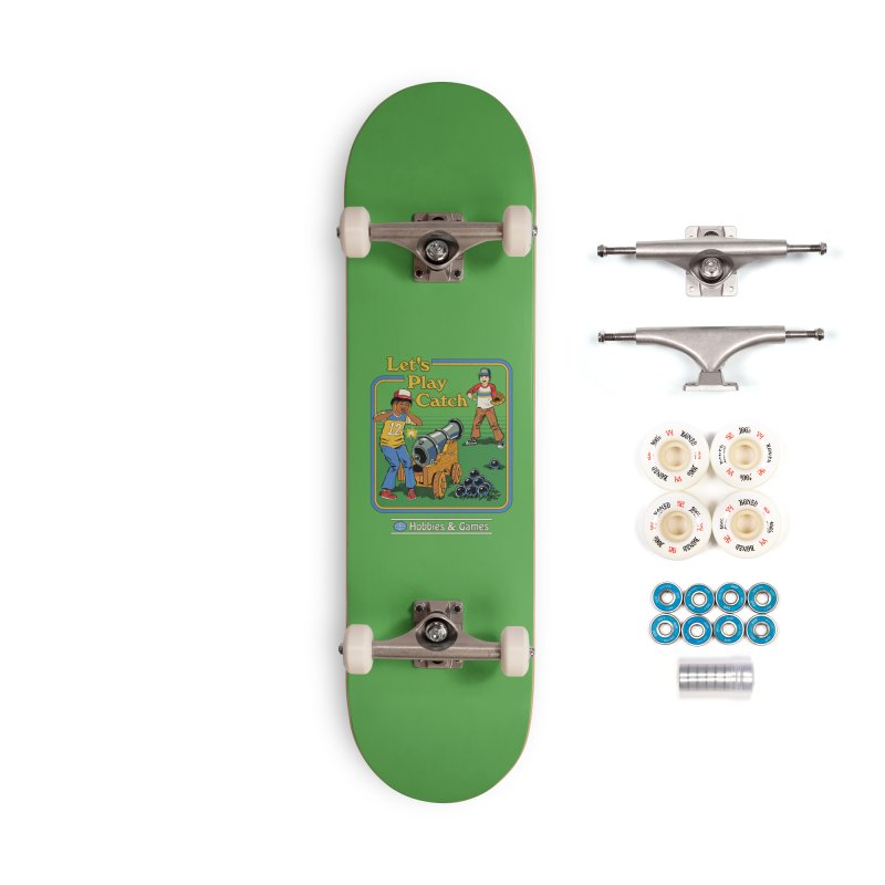 Let's Play Catch Accessories Complete - Premium Skateboard by Steven Rhodes