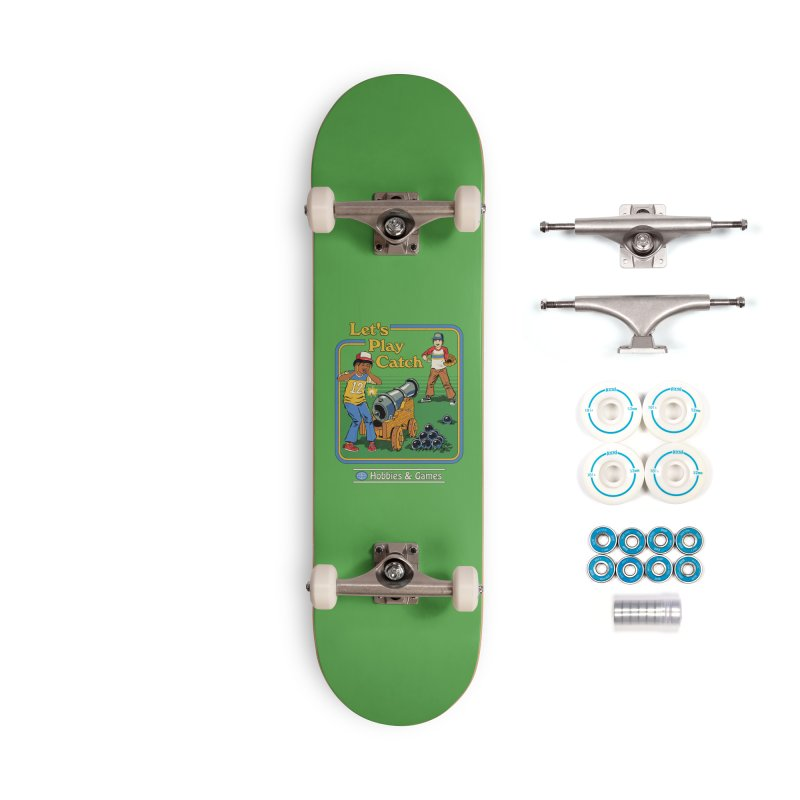 Let's Play Catch Accessories Complete - Basic Skateboard by Steven Rhodes
