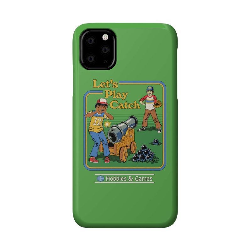 Let's Play Catch Accessories Phone Case by Steven Rhodes