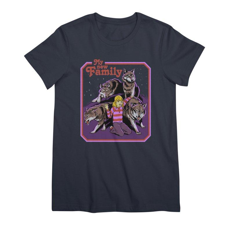 My New Family Women's Premium T-Shirt by Steven Rhodes