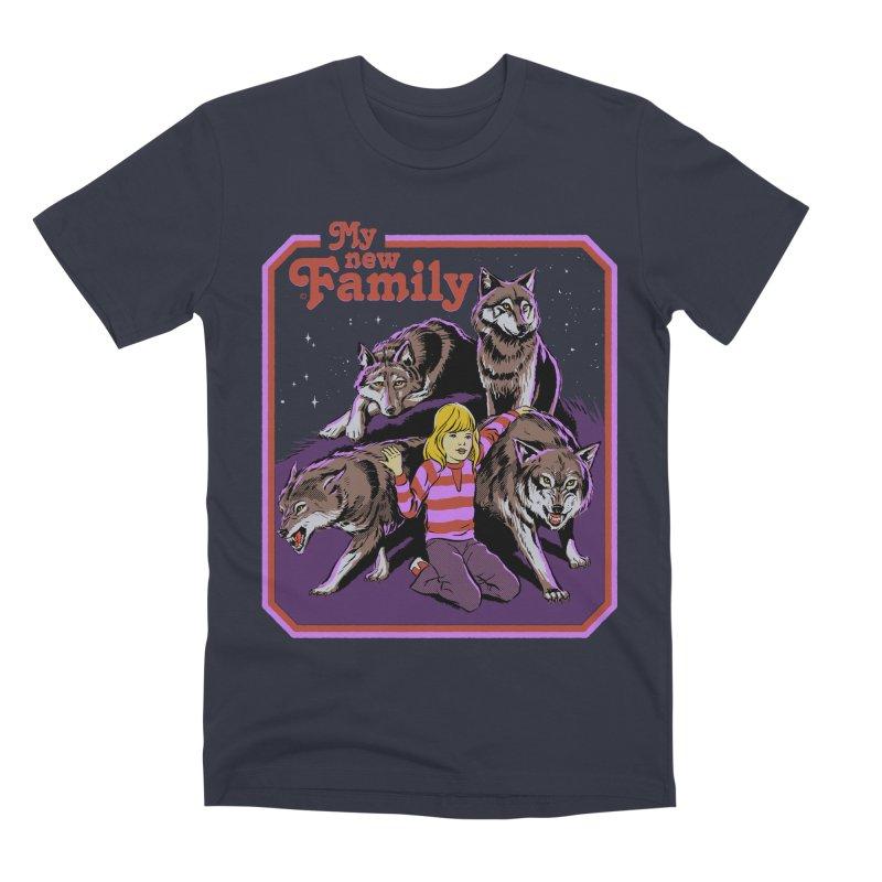 My New Family Men's Premium T-Shirt by Steven Rhodes
