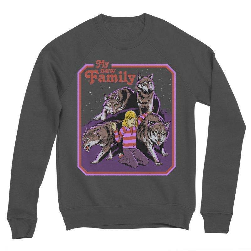 My New Family Men's Sponge Fleece Sweatshirt by Steven Rhodes