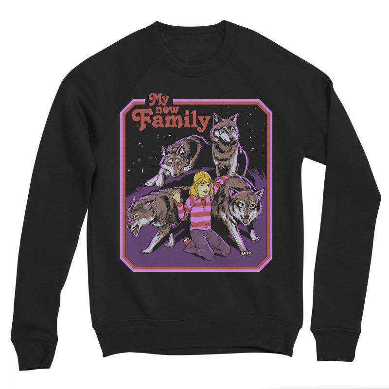 My New Family Women's Sponge Fleece Sweatshirt by Steven Rhodes