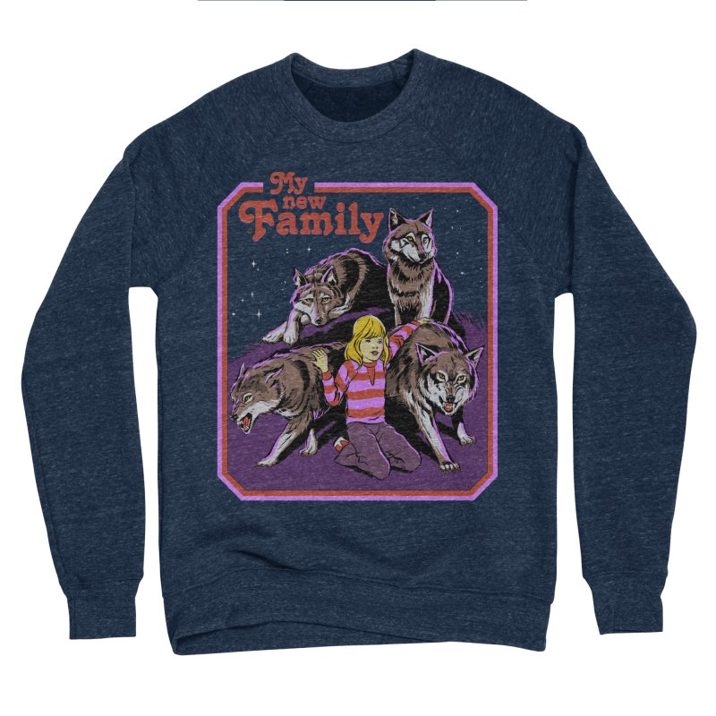 My New Family Men's Sponge Fleece Sweatshirt by Steven Rhodes