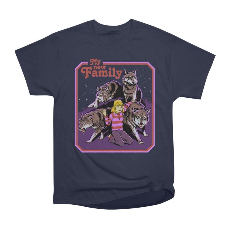 My New Family Men's Heavyweight T-Shirt by Steven Rhodes