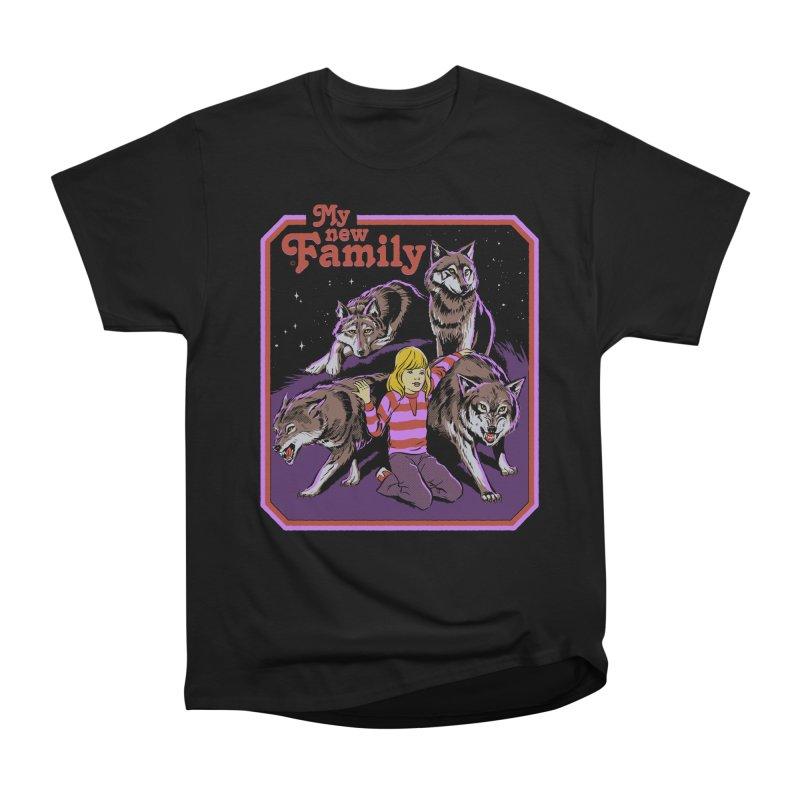 My New Family Women's Heavyweight Unisex T-Shirt by Steven Rhodes