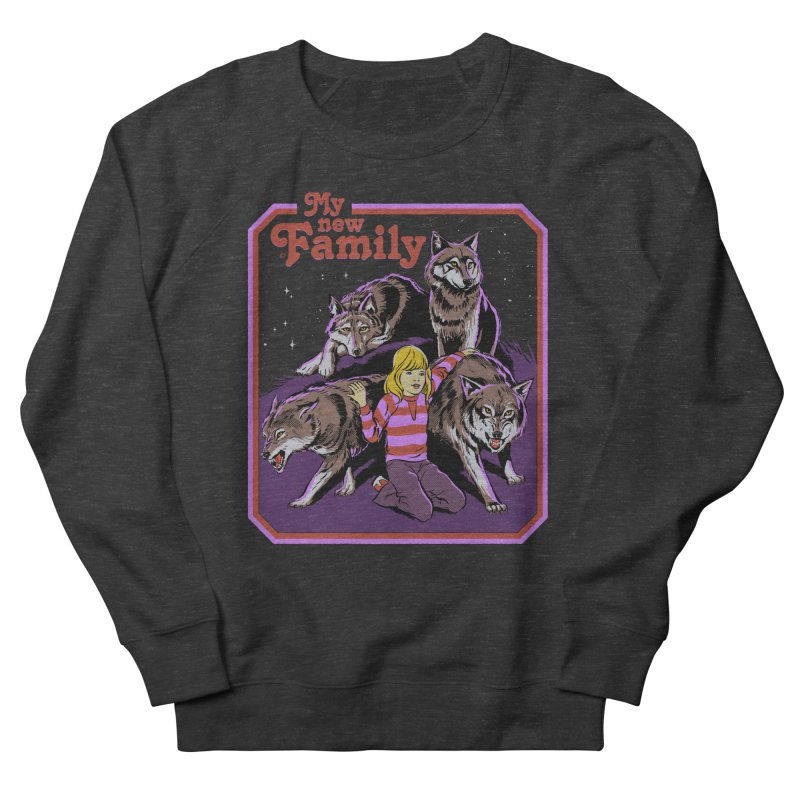 My New Family Women's French Terry Sweatshirt by Steven Rhodes