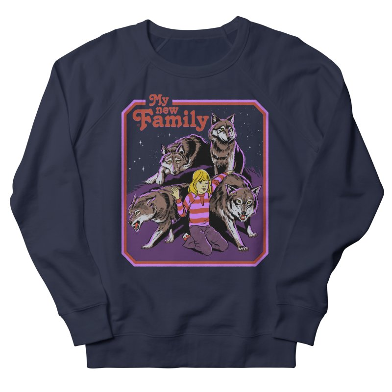 My New Family Men's French Terry Sweatshirt by Steven Rhodes