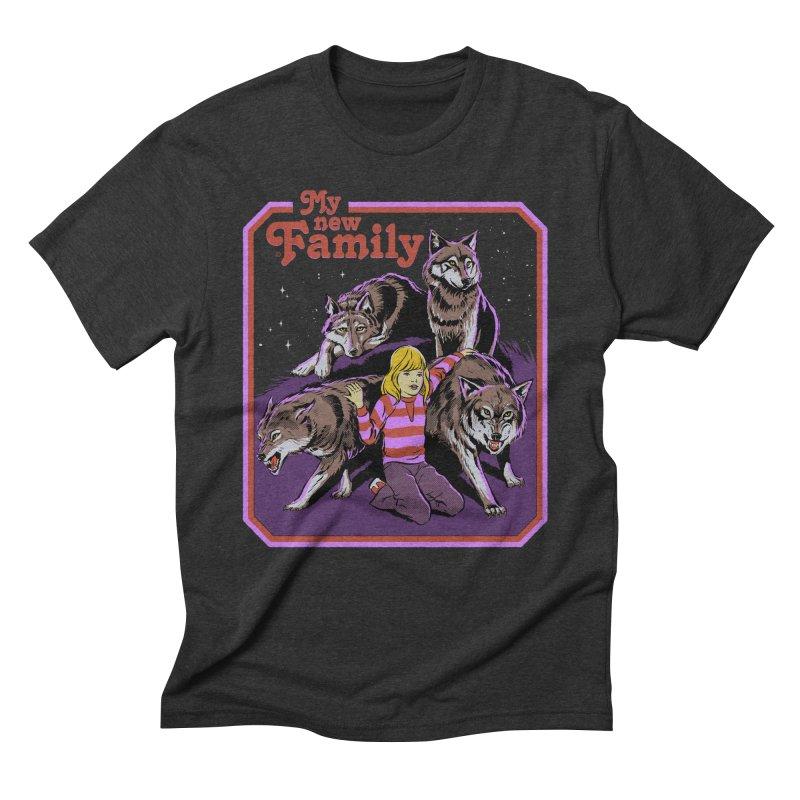 My New Family Men's Triblend T-Shirt by Steven Rhodes