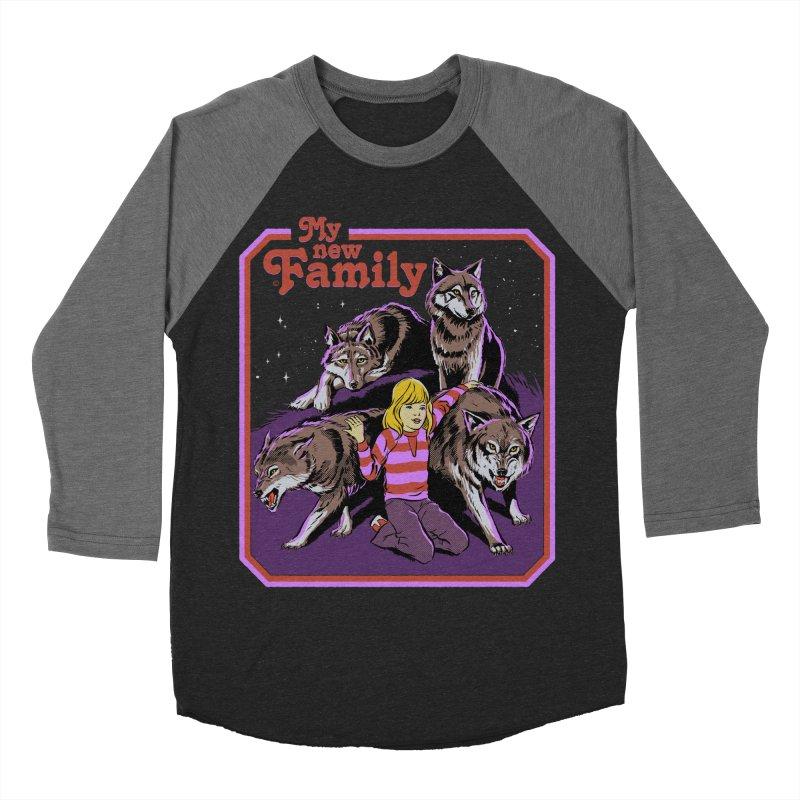 My New Family Men's Baseball Triblend Longsleeve T-Shirt by Steven Rhodes