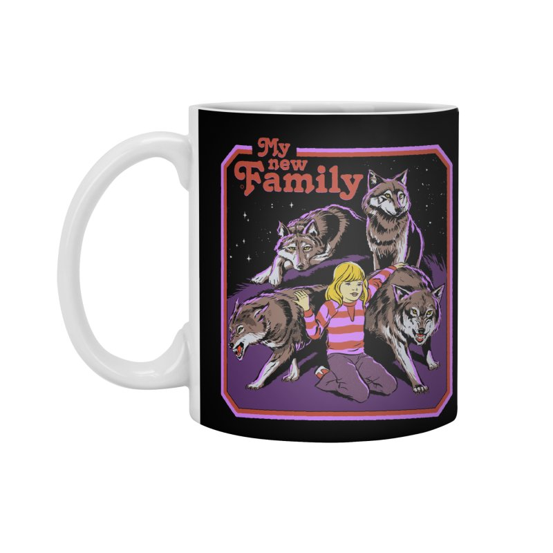 My New Family Accessories Standard Mug by Steven Rhodes