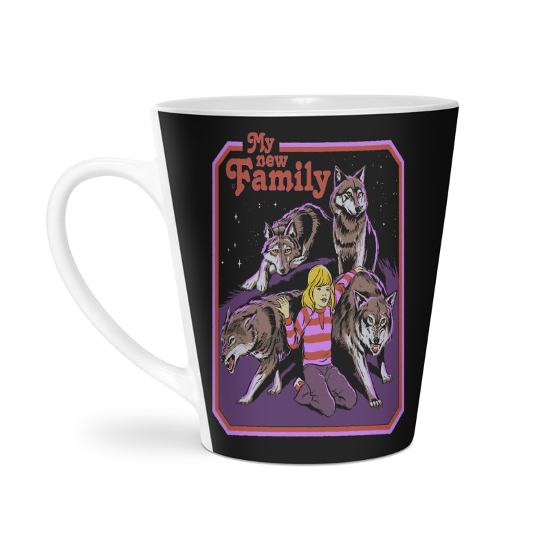 My New Family Accessories Latte Mug by Steven Rhodes