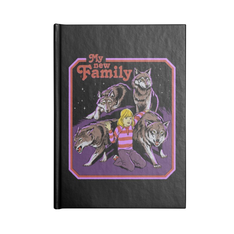 My New Family Accessories Lined Journal Notebook by Steven Rhodes