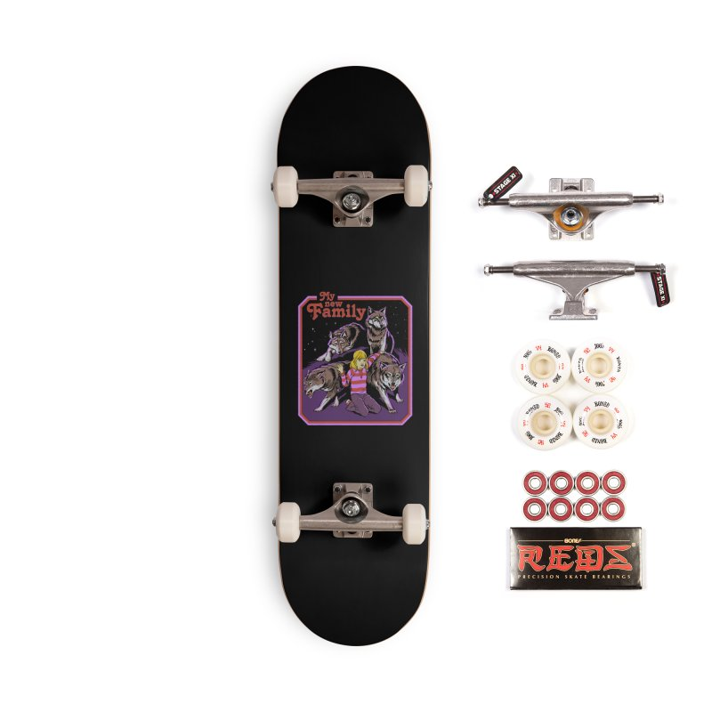 My New Family Accessories Complete - Pro Skateboard by Steven Rhodes