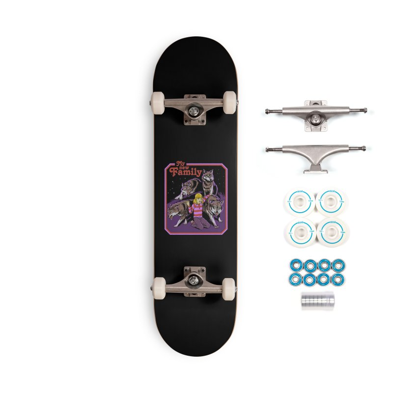 My New Family Accessories Complete - Basic Skateboard by Steven Rhodes