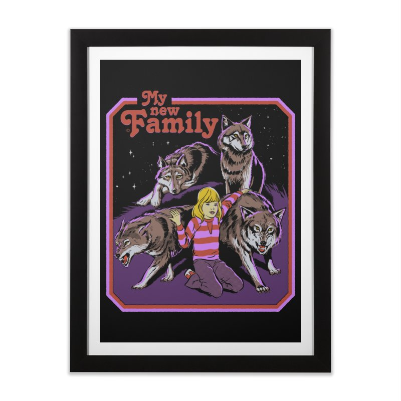 My New Family Home Framed Fine Art Print by Steven Rhodes
